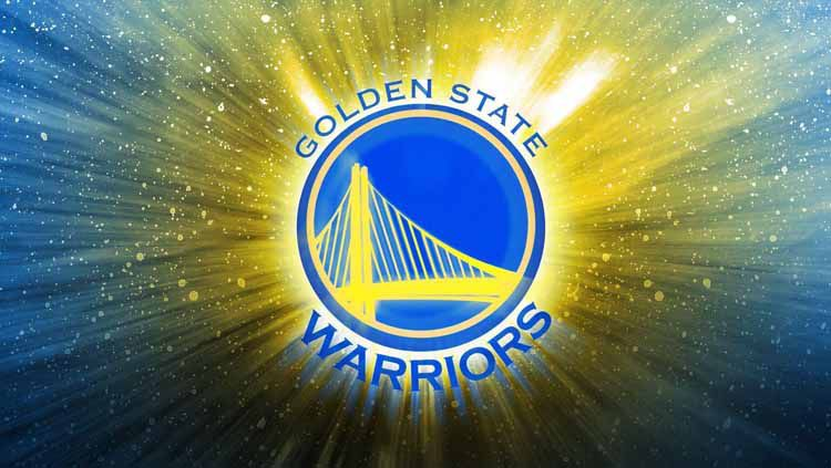 Logo Golden State Warriors, tim basket NBA. Copyright: © WallpaperAccess