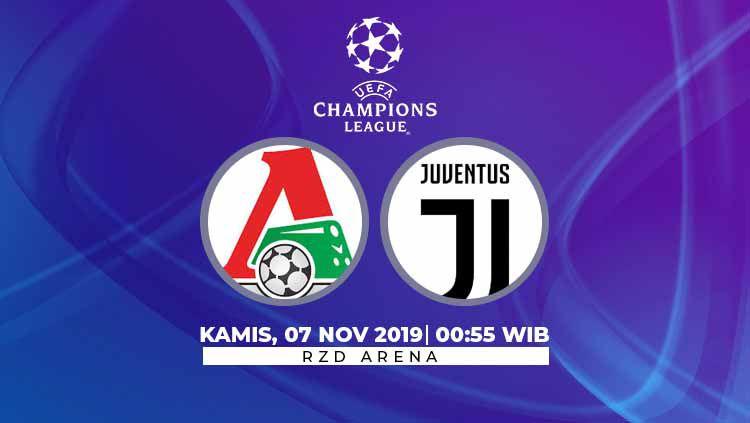 Prediksi Lokomotiv Moskwa vs Juventus Copyright: © INDOSPORT