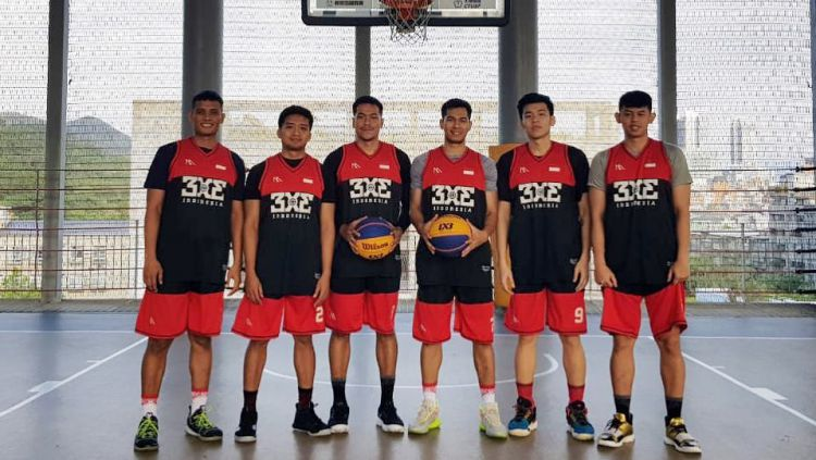 Skuat Timnas Basket Indonesia 3x3 Copyright: © instagram.com/3x3indonesia