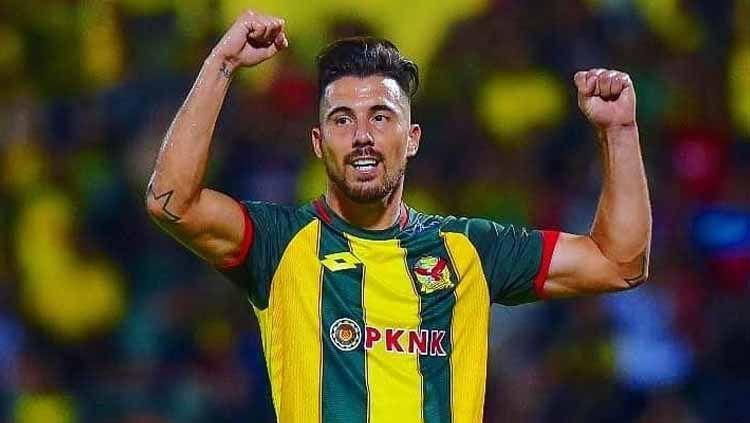 Jonathan Bauman bisa menghadirkan setidaknya tiga keuntungan buat Arema FC jika bergabung di Liga 1 2020. Copyright: © Kedah FA
