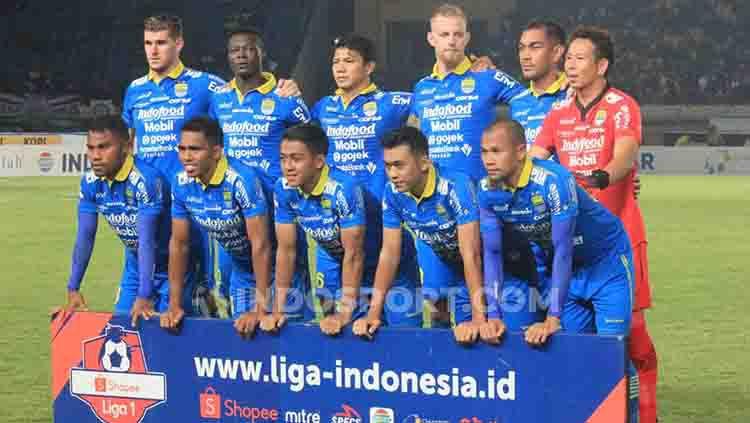 Skuat Persib Bandung Copyright: © Arif Rahman/INDOSPORT