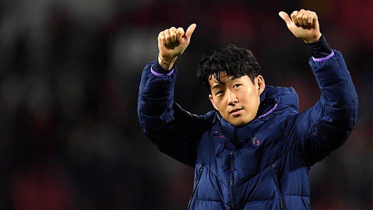 Kedatangan Jose Mourinho ke klub Liga Inggris Tottenham Hotspur membuat Son Heung-min menjadi pemain Asia pertama yang ditangani The Special One sepanjang kariernya. Copyright: © Justin Setterfield/GettyImages