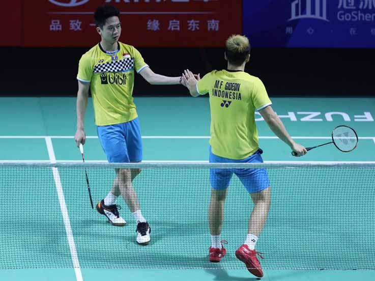 Hong Kong Open 2019: Pecundangi China Taipei, Kevin/Marcus ke Babak Kedua