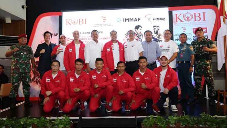 Komite Olahraga Beladiri Indonesia atau KOBI semakin melebarkan sayapnya. Bulan ini, KOBI akan mengirim timnas atlet amatir MMA Indonesia Copyright: © Humas KOBI