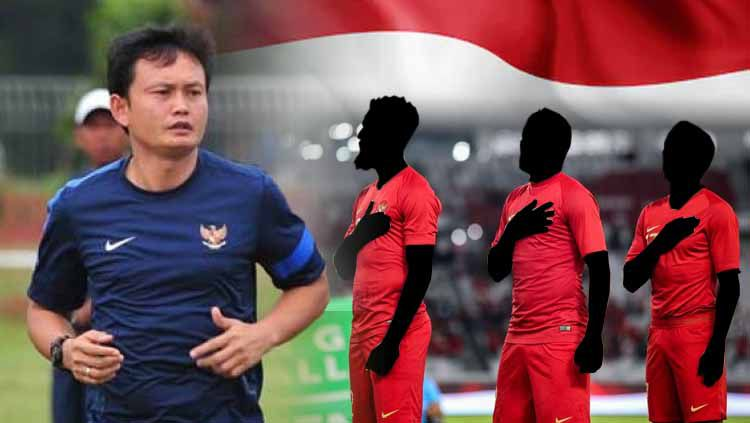 Pelatih Timnas Indonesia, Yeyen Tumena, dibuat bingung jelang lawan Malaysia di laga Kualifikasi Piala Dunia 2022. Copyright: © Ilustrasi/INDOSPORT