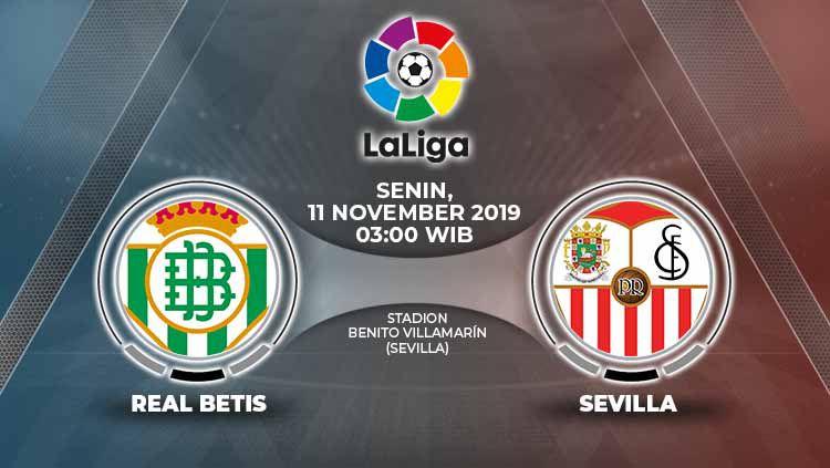 Duel sengit di LaLiga Spanyol antara dua klub asal Andalusia, Sevilla FC dan Real Betis, yang kerap disebut 'El Gran Derbi' alias Derbi Besar akhir pekan in Copyright: © Grafis: Yanto/Indosport.com
