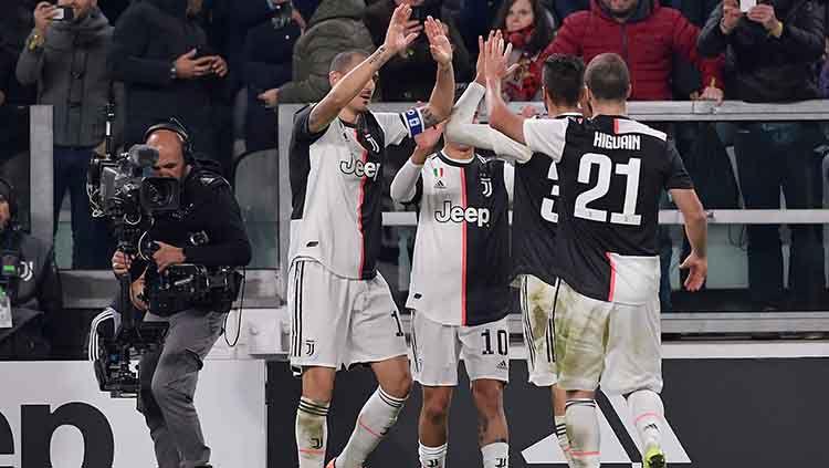 Klasemen Sementara Serie A Italia: Kudeta Inter Milan, Juventus Jadi Juara Paruh Musim. Copyright: © Mattia Ozbot/Soccrates/Getty Images