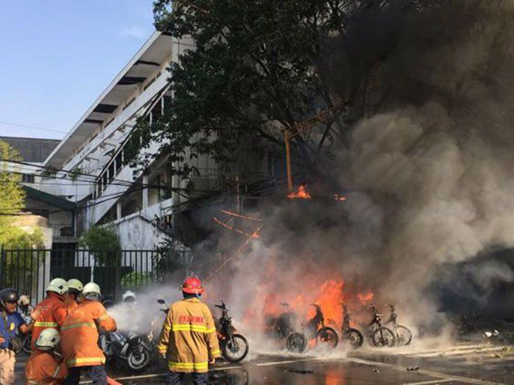 Serupa di Medan, 5 Stadion Indonesia Pernah Alami Insiden Bom Meledak