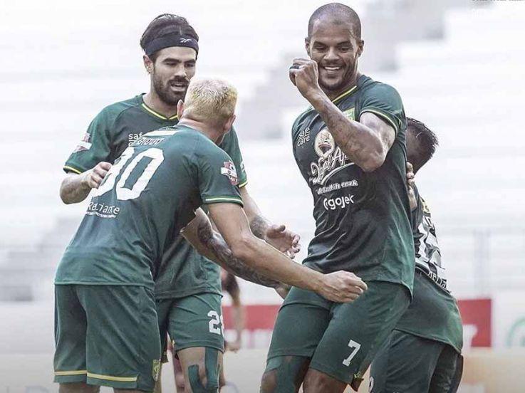 Hasil Pertandingan Liga 1 2019 Persebaya Surabaya vs PSM Makassar: Klok Gagal Penalti, Bajul Ijo Menang