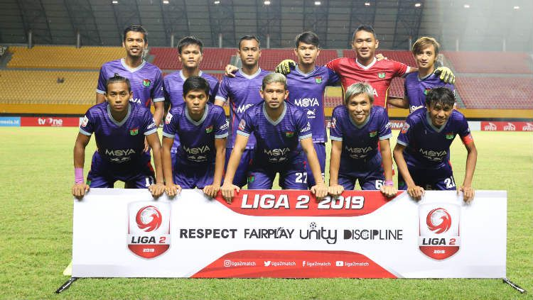 Persita Tangerang di Liga 2 2019. Copyright: © Media Persita