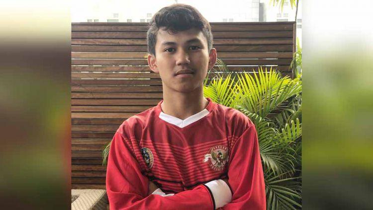 Muhammad Rafli Asrul, pemain Garuda Select 3 dari PSM Makassar. Copyright: © Instagram@mysupersoccer