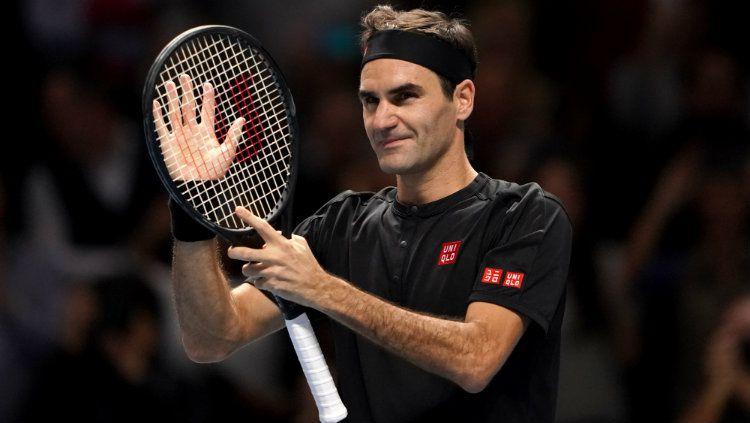 Petenis peraih Grand Slam terbanyak asal Swiss Roger Federer sebut memiliki tiga gol utama untuk musim 2020 mendatang. Copyright: © Tess Derry/PA Images via Getty Images
