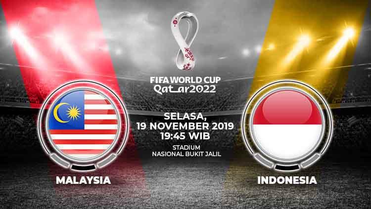 Berita sport: Prediksi pertandingan Kualifikasi Piala Dunia 2020 antara Timnas Malaysia vs Timnas Indonesia, duel gengsi demi harga diri Tanah Air. Copyright: © INDOSPORT