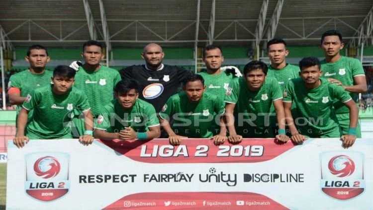Skuat PSMS Medan di Liga 2 2019 Copyright: © Aldi Aulia Anwar/INDOSPORT