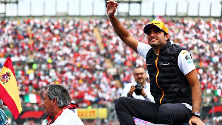 Start Terakhir, Pembalap Spanyol Raih Podium Perdananya di Formula 1 (F1) Copyright: © Dan Istitene/Getty Images