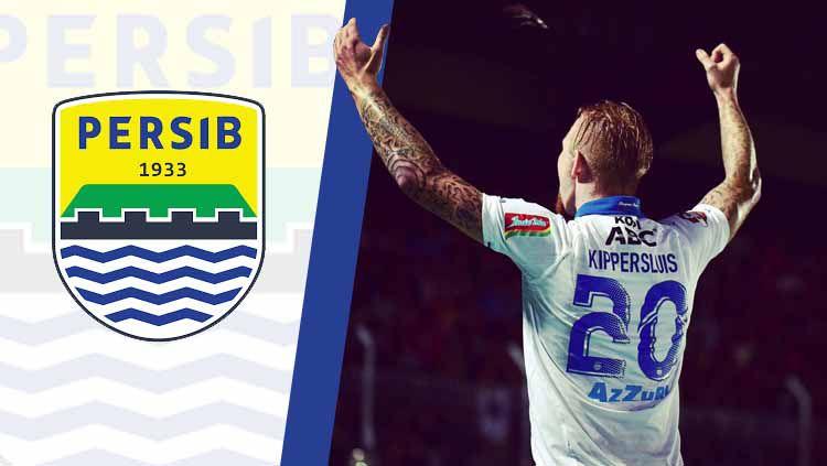 Blunder fatal berpotensi mendera klub Liga 1 2019, Persib Bandung, andai musim depan tetap memperpanjang kontrak pemain asingnya, Kevin van Kippersluis. Copyright: © Ilustrasi INDOSPORT/kevinkip11