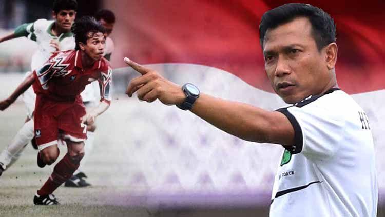 Pelatih Persita Tangerang, Widodo Cahyono Putro sekaligus legenda timnas Indonesia Copyright: © persita.official/INDOSPORT