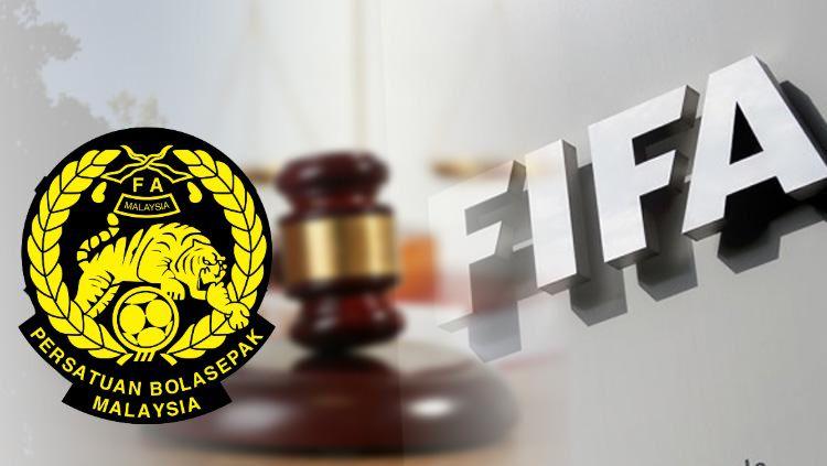 Ilustrasi FIFA Jatuhkan Sanksi untuk oknum suporter di laga Kualifikasi Piala Dunia 2022 antara Malaysia vs Timnas Indonesia, Selasa (19/11/19) kemarin malam. Copyright: © INDOSPORT