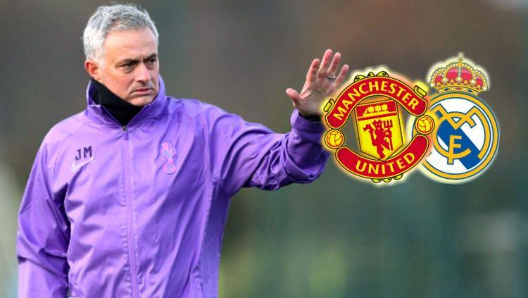 Akan ada efek domino usai pengumuman Jose Mourinho melatih Tottenham Hotspur, Rabu (20/11/19) kemarin dan akan menyeret Real Madrid dan Manchester United. Copyright: © tottenhamhotspur.com