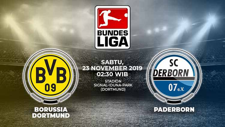 Xem lại Dortmund vs Paderborn, 23/11 – Vòng 12 Bundesliga 2019/20