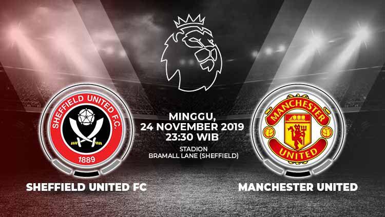 Berikut prediksi pertandingan Sheffield United vs Manchester United dalam laga lanjutan Liga Inggris 2019-2020 pekan ke-13 yang akan digelar pada hari Minggu (24/11/2019) pukul 23.30 WIB. Copyright: © INDOSPORT