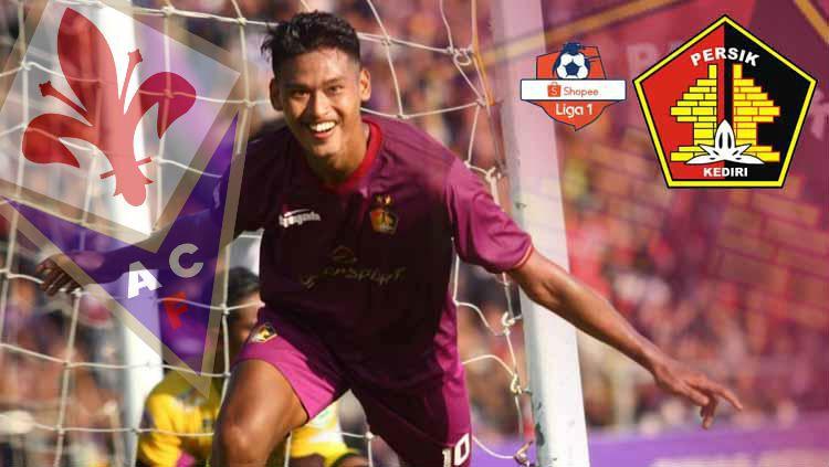 Perjalanan fantastis Persik Kediri untuk promosi ke Liga 1 ini nyatanya hampir sama dengan Fiorentina di Liga Italia beberapa musim silam. Copyright: © INDOSPORT