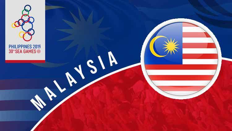 Kontingen Malaysia harus berlapang dada mendapati kebijakan panitia SEA Games 2019 yang mencopot satu medali emasnya. Copyright: © INDOSPORT
