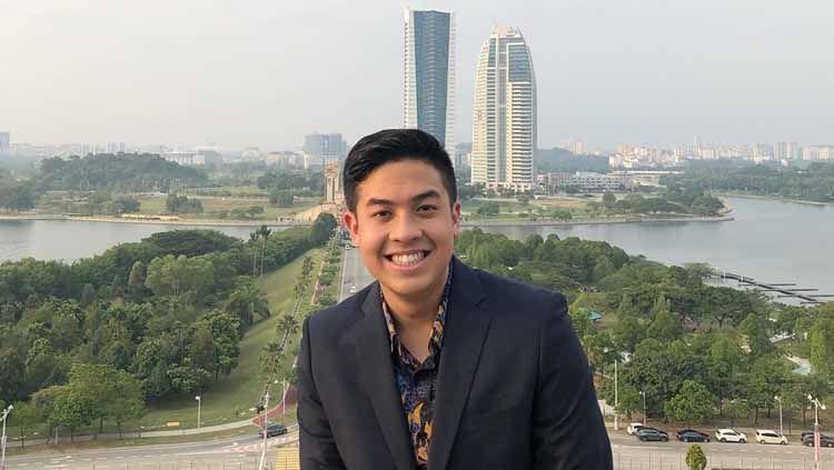 Jerome Polin, YouTuber Indonesia yang akan berpartisipasi di torch relay Olimpiade Tokyo 2020. Copyright: © jeromepolin