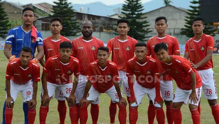 Pertandingan leg 1 babak kedua Liga 3 Regional Sumatera antara tuan rumah PSLS Lhokseumawe (Aceh) vs Karo United (Sumut) di Stadion Tunas Bangsa, Lhokseumawe resmi diundur. Copyright: © Aldi Aulia Anwar/INDOSPORT