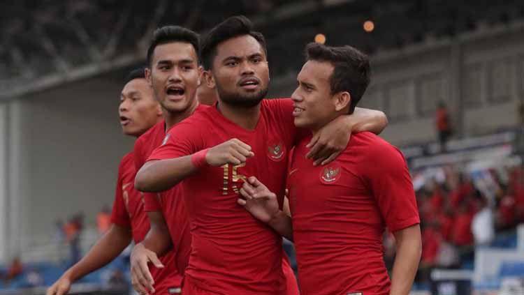 Kemenangan Timnas Indonesia U-23 atas Thailand di laga pertama SEA Games 2019, Selasa (26/11/19), menjadi sorotan media asing. Copyright: © officialpssi