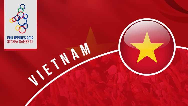 Pesepakbola cantik Vietnam, Tran Thi Hong Nhung masuk UGD usai dapat medali emas SEA Games 2019, Minggu (08/12/19). Copyright: © INDOSPORT