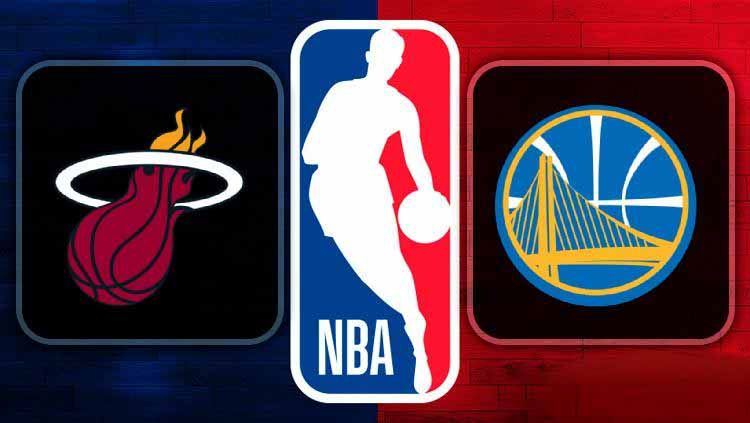 Duel dua tim pesakitan di NBA, Miami Heat dan Golden State Warriors. Copyright: © feednoticias.com