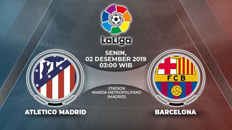 Xem lại Atletico Madrid vs Barcelona, La Liga 2/12/2019