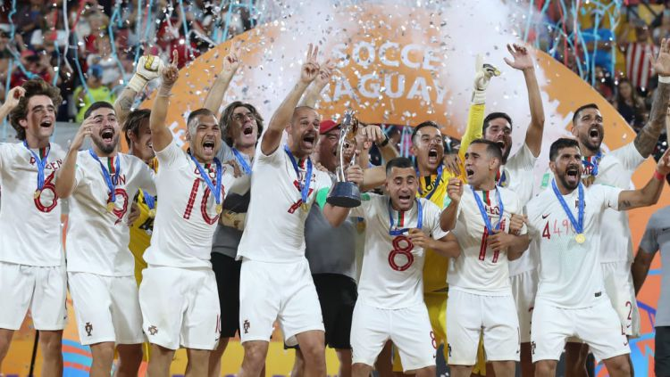 Portugal juara Piala Dunia sepak bola pantai 2019 Copyright: © FIFA