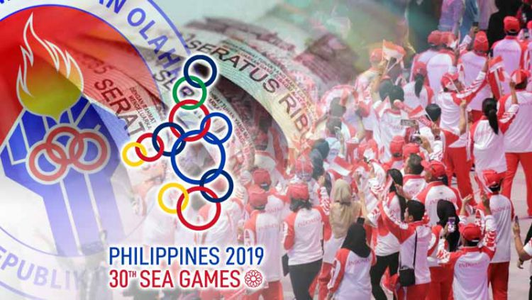 Polemik pendanaan SEA Games 2019. Copyright: © Grafis: Indosport.com