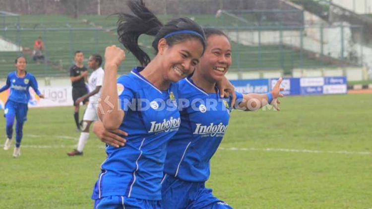 Jadwal semifinal leg kedua Liga 1 Putri 2019 antara Arema FC vs Persib Bandung dan Tira-Kabo Kartini vs Persipura Tolikara. Copyright: © Arif Rahman/INDOSPORT