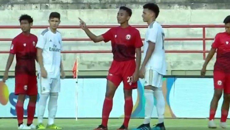 Pertandingan U-20 International Cup Real Madrid vs Indonesia All Star di Bali, Selasa (03/12/19). Copyright: © https://www.vidio.com/