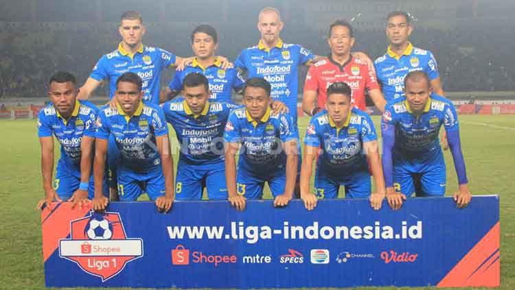 Pelatih Persib Bandung, Robert Rene Alberts menargetkan poin penuh pada pertandingan tandang Liga 1 2019 menghadapi Borneo FC di Stadion Segiri, Samarinda. Copyright: © Arif Rahman/INDOSPORT
