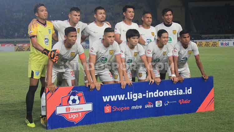 Persela Lamongan tampaknya masih memerlukan tambahan pemain sebagai persiapan menjelang kompetisi Liga 1 2020. Copyright: © Ronald Seger Prabowo/INDOSPORT