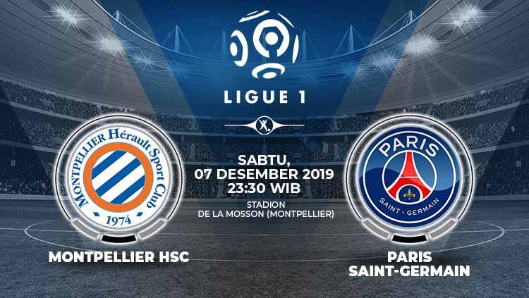 Prediksi Pertandingan Ligue 1 Prancis: Montpellier vs PSG. Copyright: © Grafis: Indosport.com