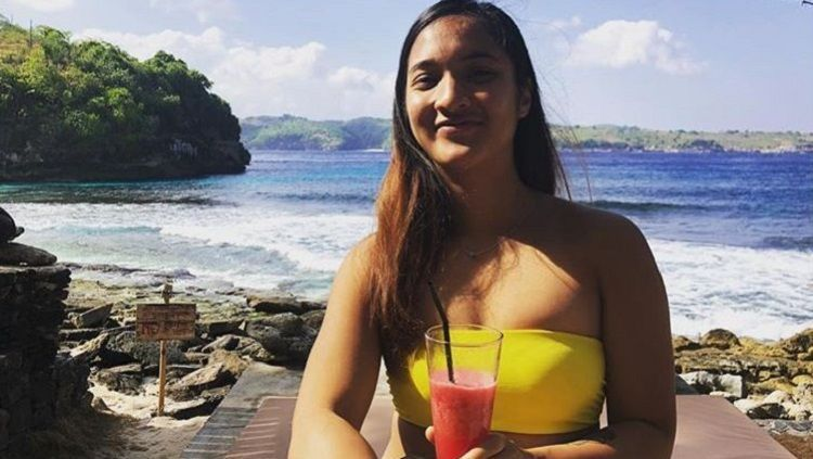 Rachel Arnold, pemain squash asal Malaysia yang berhasil meraih medali emas di SEA Games 2019. Copyright: © Instagram @heyyarnolddddd
