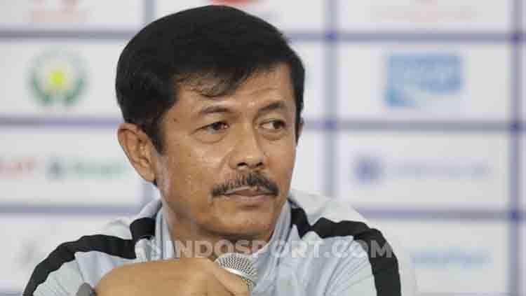 Pelatih Timnas Indonesia U-23, Indra Sjafri, memastikan kondisi tim dalam keadaan baik jelang pertandingan final SEA Games 2019 melawan Vietnam. Copyright: © Ronald Seger Prabowo/INDOSPORT