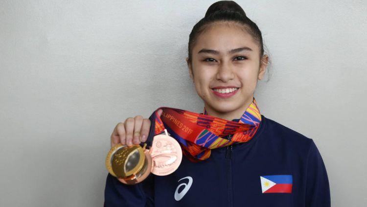 Daniela dela Pisa, atlet peraih medali emas Filipina yang sempat berjuang melawan kanker Copyright: © FoxSportsAsia