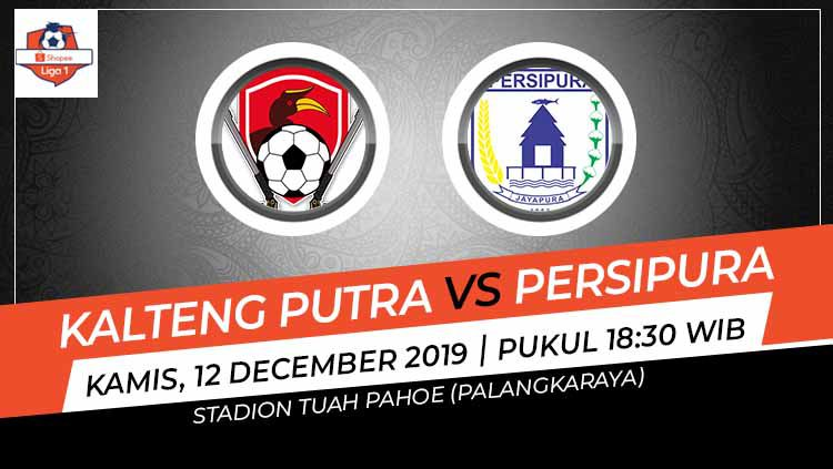 Prediksi pertandingan Liga 1 2019 antara Kalteng Putra vs Persipura Jayapura, di Stadion Tuah Pahoe, Kamis (12/12/19). Copyright: © Grafis: Indosport.com