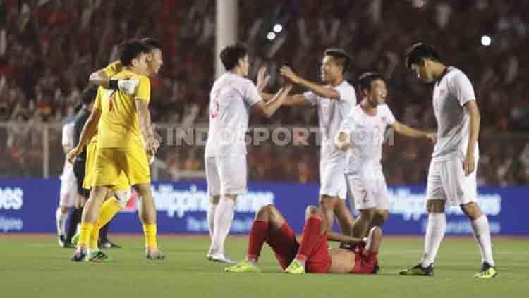 Timnas Vietnam U-23 saat ini sedang bersitegang dengan salah satu klub belanda, SC Heerenveen, jelang Piala Asia U-23 2020, gara-gara Doan Van Hau. Copyright: © Ronald Seger Prabowo/INDOSPORT