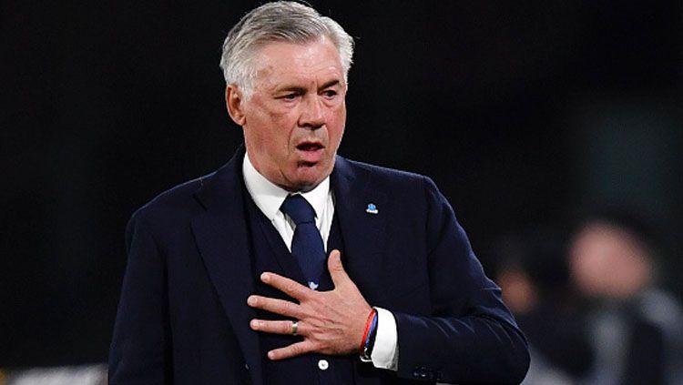 Fakta tak terduga mengiringi kembalinya Carlo Ancelotti ke Stamford Bridge saat Chelsea berhadapan dengan Everton di Liga Inggris 2019-2020 pekan ke-29. Copyright: © Stuart Franklin/GettyImages