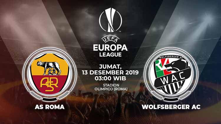 Xem lại AS Roma vs Wolfsberger, Europa League – 13/12/2019