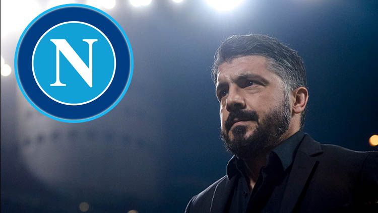 Gennaro Gattuso resmi jadi pelatih klub Serie A Italia, Napoli Copyright: © Nicolo Campo/GettyImages/StickPNG