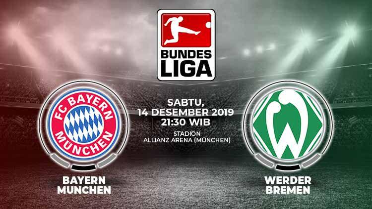 Xem lại Bayern Munich vs Werder Bremen, Bundesliga – 14/12/2019