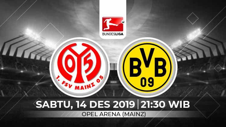 Xem lại Mainz vs Dortmund, Bundesliga – 14/12/2019